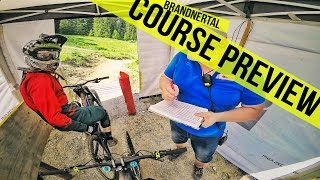 Downhill ÖM & GDC Brandnertal 2016 Course...