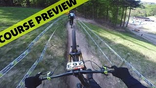German Downhill Cup Winterberg 2016 Course...