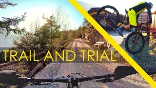 Trail & Trial riding on the 6Fattie -...