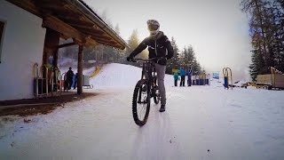 Downhill Riding down a Toboggan Run - Fabio Wibmer