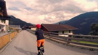 11 year old Unicycle Rider - GoPro Hero 4 and...