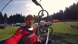 GoPro Downhill Racing in Spicak - I don't give...