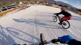 Downhill MTB GoPro footage on epic Austrian slope