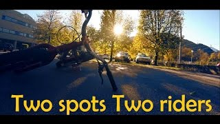 Street Trial | Two spots Two riders - GoPro Hero 3
