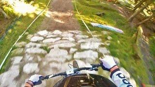 Downhill GoPro run IXS European Cup Leogang...