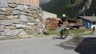 Most creative bike trick