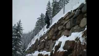 Backflips und Saltos im Schnee