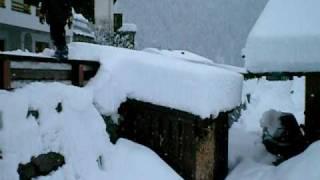 Backflip im Schnee