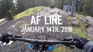 First Lap of 2018 - AF Line with Karma Grip