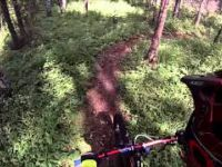 GoPro Hinton Mountain Biking ALain and Rodel...