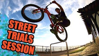 STREET TRIAL SESSION - BY THE SEASIDE