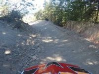Whistler Bike Park Heart of Darkness with Bear