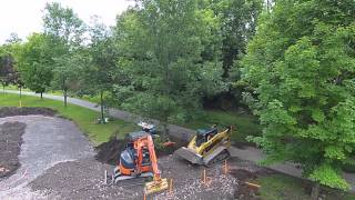Ontario Bike Park Construction Paved Pump...