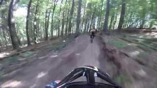 Bukovel downhill run POV