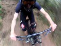 gopro selfie downhill