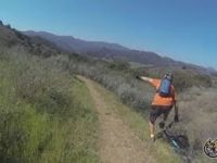 Colassas Trail off Las Virgenes and Mulholland...