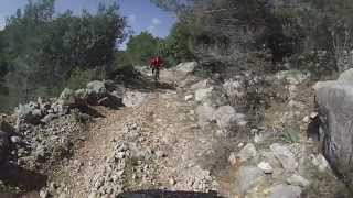 REAR VIEW CAM Downhill from Sa Galera to Sa...