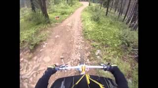 GoPro: Alain's Rocky Mountain Downhill