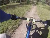 Mountain Biking: Trail 7 to Lake Annette in...