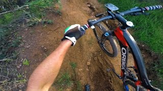XC Ride: El Niño Damaged J-Drop Trail