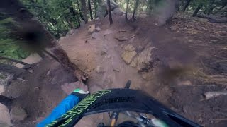 Enduro Lap: Wet Miracle Mile Top to Bottom...
