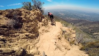 XC Ride: Middle Sam Merrill, Mt Wilson, California