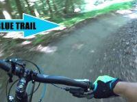 Blue Trail Mountain Bike Trail - Bikepark...