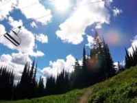 GoPro Snake Pit Trail Silver Star Bike Park POV 2