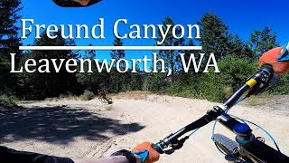 Freund Canyon MTB - Leavenworth, WA