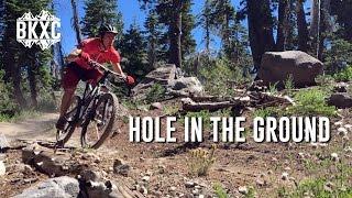 Mountain biking Hole in the Ground trail