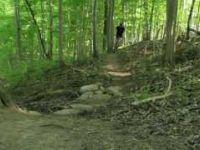 Riding the Komoka trails