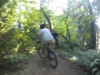Byrne Creek Bike Trail (GoPro Hero 2 Footage)