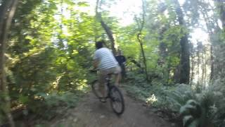 Byrne Creek Bike Trail (GoPro Hero 2 Footage)