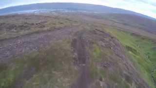 Hiðarfjall mtb trail gönguskáli - vegur  HD
