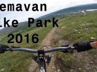 Hemavan - Sweden -  Bike Park GoPro 2016