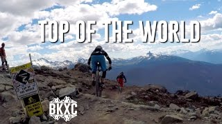 Mountain Biking Top of the World in Whistler, B.C.