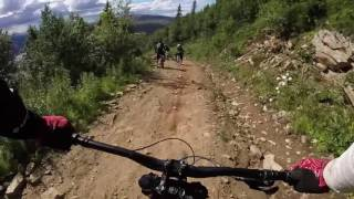 Åre Bike Park, Sweden - Örnnästet and Uffes