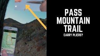 Pass Mountain Trail Mountain Biking Trail - Mesa, Arizona