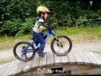 5 year old BP at Burnaby Mountain Air Bike...