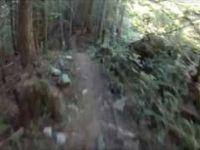 Mountain Biking - Wet Dreams - Nelson,BC 7/16/2013