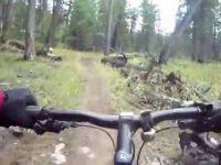 Overlander Trail, Jasper on MTB