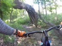 Horn Park Mountain Bike Trail - Moorhead Mn