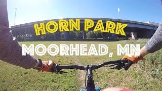 Horn Park Mountain Bike Trail - Moorhead Mn