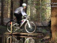 Cykla i skogen!