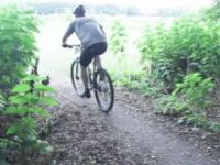 Mountain Biking in Moorhead, Minnesota at the...