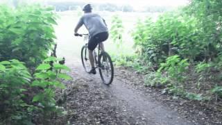Mountain Biking in Moorhead, Minnesota at the...