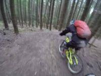 Bukovel bike park - black trail