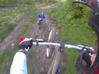 MTB Freeride in Bike Park BREH