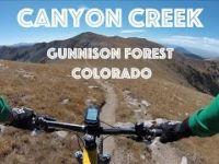Mountain Biking Canyon Creek Trail (Monarch...