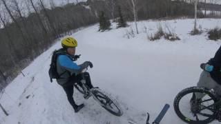 Friendly Mountain Bikers: Terwillegar Dog Park...